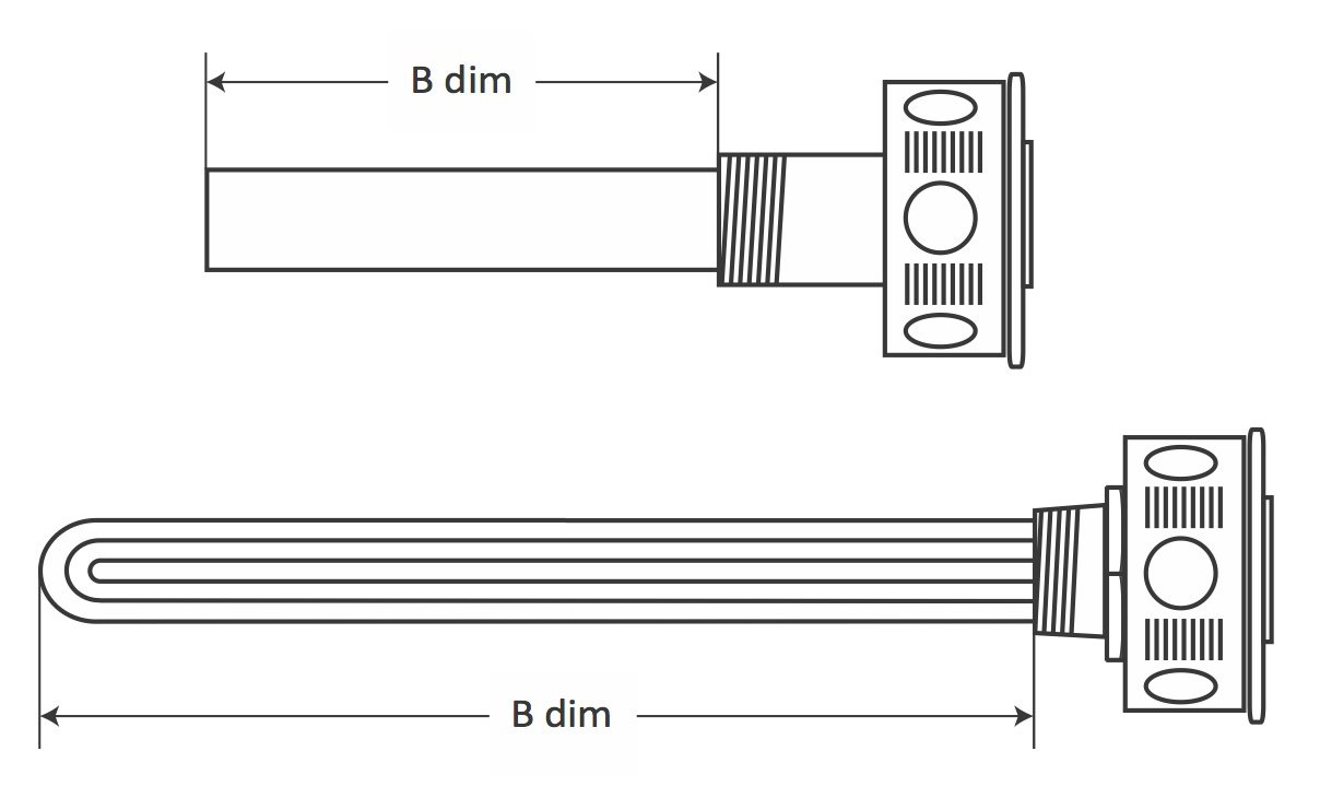 Screw Plug Immersion Heaters Screw In Immersion Heaters