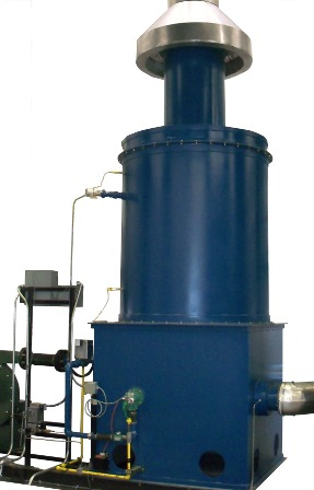 Thermal oxidizer for carbonization furnaces
