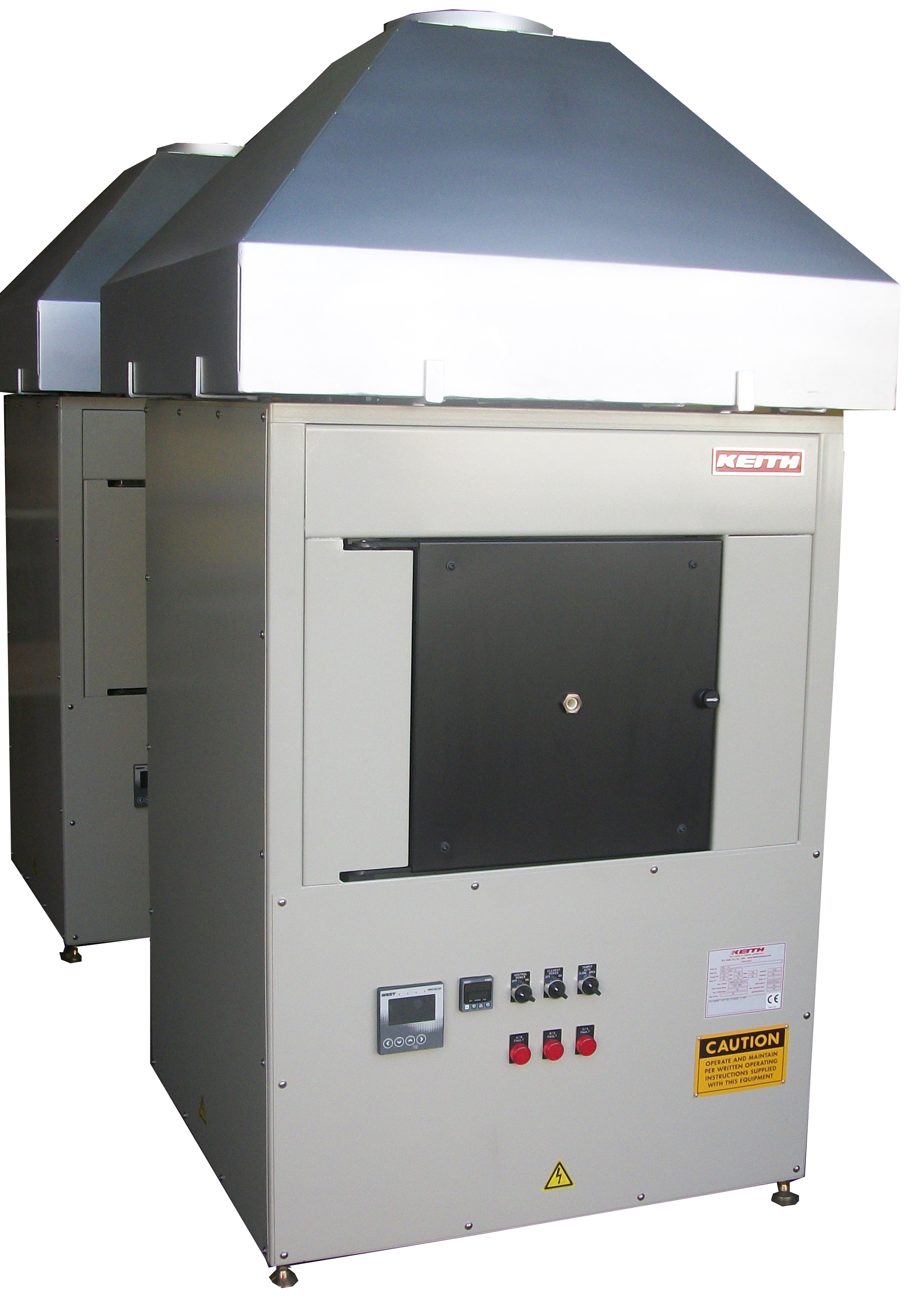 1700C Front Loading Fast Heat Furnace with Hood