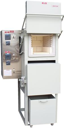 Dual Chamber furnace with quench tank