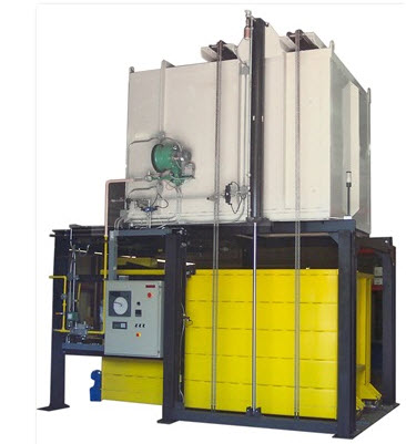 Bottom Drop Furnace for Solution Heat Treating Aluminum