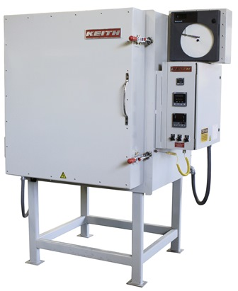 Custom fabricated small high temperature box furnace