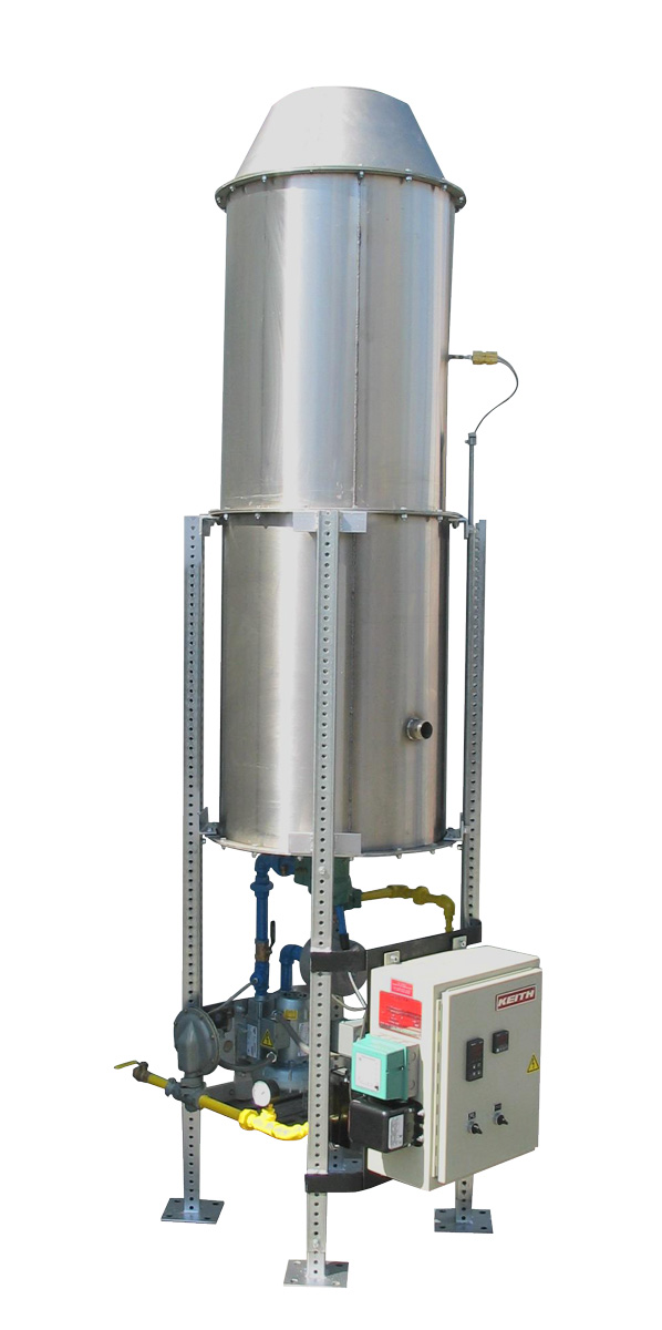 Custom made thermal oxidizer